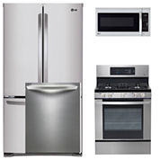 LG 4-pc. Gas Kitchen Package