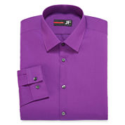 JF J. Ferrar® Long-Sleeve Easy-Care Solid Dress Shirt