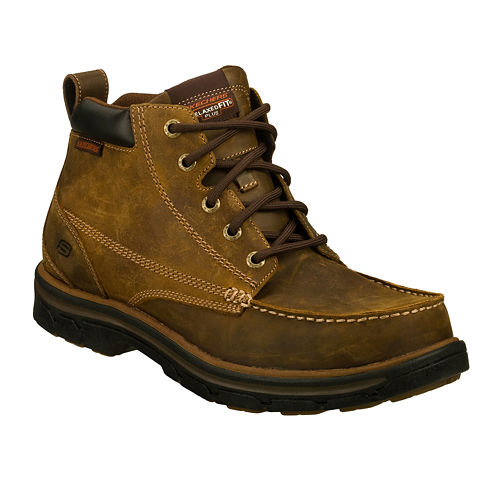 Skechers Barillo Lace-Up Mens Boots