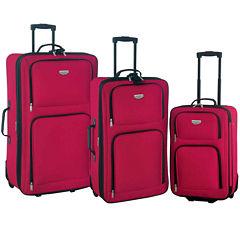 Travelers Club Eva 3-pc. Value Luggage Set