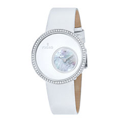 Fjord Womens White Stainless Steel Helga Strap Watch