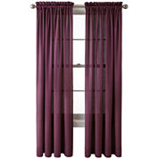 Royal Velvet® Hilton Rod-Pocket Window Treatments