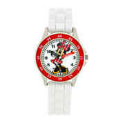 Boys White Strap Watch-Mn1160jc