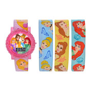 Girls Multicolor Strap Watch-Pn3053jc