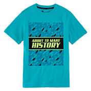 Xersion Boys Short Sleeve T-Shirt-Big Kid