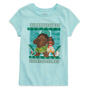 Disney Girls Graphic T-Shirt-Big Kid