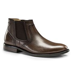 Dockers® Westwood Mens Leather Slip-On Dress Shoes