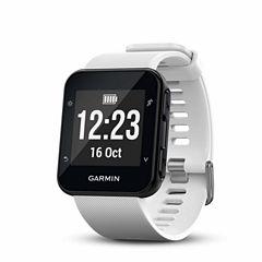 Garmin Forerunner 35 White GPS Smartwatch-0100168903key