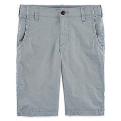 Arizona Stretch Poplin Chino Shorts - Boys 8-20 and Husky