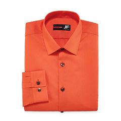 J.Ferrar Slim Fit Long Sleeve Dress Shirt