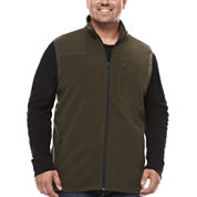The Foundry Big & Tall Supply Co. Fleece Vest Big and Tall