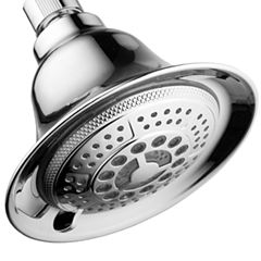 HotelSpa® All-Chrome Color-Changing 5-Setting LED Showerhead