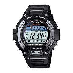 Casio® Tough Solar Illuminator Mens Digital Watch WS220-1A