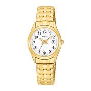 Pulsar® Womens Gold-Tone Stainless Steel Bracelet Watch PXT586