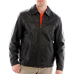 Excelled® Rugged Leather Hipster Jacket