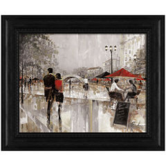 Riverwalk Charm Framed Wall Art