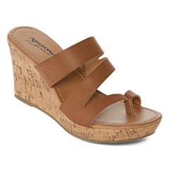 Arizona Cypress Womens Wedge Sandals