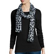 Liz Claiborne® Leopard Print Pashmina