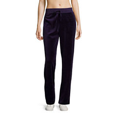 Made For Life Velour Workout Pants Talls