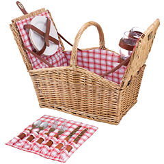 Picnic Time® Piccadilly Picnic Basket for Two