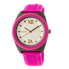 Crayo Unisex Pink Strap Watch-Cracr3607