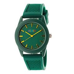 Crayo Unisex Green Strap Watch-Cracr3703