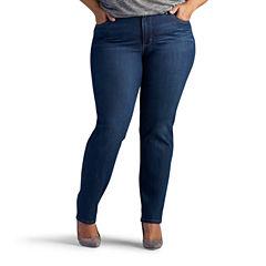 Lee Midrise Straight Leg Jean- Plus