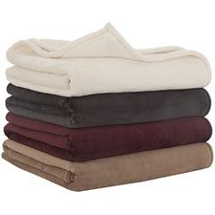Vellux® Sheared Faux-Mink Blanket