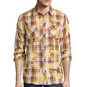 akademiks® Clipper Long-Sleeve Woven Shirt