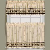 Pinehaven Rod-Pocket Kitchen Curtains