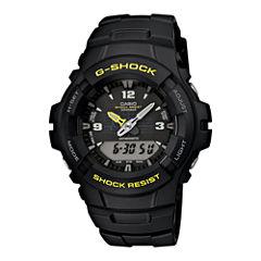 Casio® G-Shock Mens Analog/Digital Chronograph Watch G100-9CM