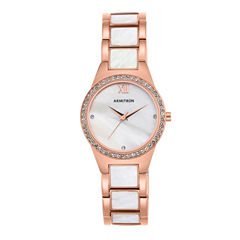 Armitron Now Womens Rose Goldtone Watch Boxed Set-75/5468mprg