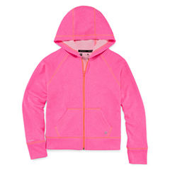 Xersion Solid Hoodie Pullover Jacket - Girls' 7-16 and Plus