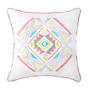 Intelligent Design Ava Square Throw Pillow