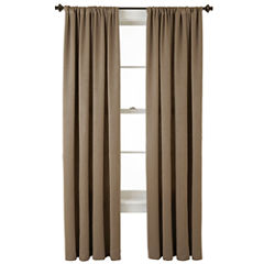 Home Expressions™ Cassidy Room-Darkening Rod-Pocket Curtain Panel