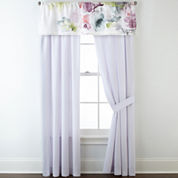 JCPenney Home™ Watercolor Floral 2-Pack Curtain Panels