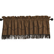 HiEnd Accents Barbwire Tan Valance