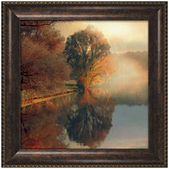 Summer Reflections Framed Wall Art