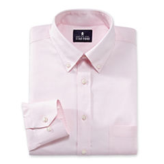 Stafford® Travel Wrinkle-Free Oxford Dress Shirt - Big & Tall