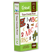 Cricut® Type Candy Font Cartridge