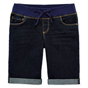 Arizona Bermuda Shorts - Girls 7-16, Slim and Plus