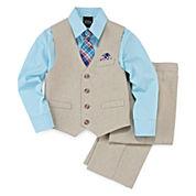 4-pc Vest Set - Boys 4-10
