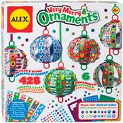 ALEX TOYS® Very Merry Ornaments Scrapbook Kit