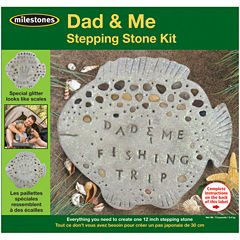 Milestones Dad And Me Stepping Stone Kit
