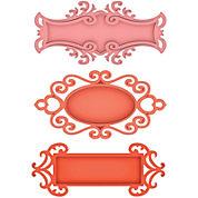 Spellbinders™ Shapeabilities® Dies, 3-pc. Fancy Tags 2 Set