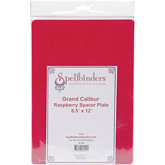 Spellbinders™ Grand Calibur™ Raspberry Spacer Plate 8.5