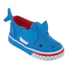 Vans Asher Boys Skate Shoes - Toddler