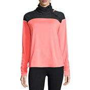 Xersion™  Long Sleeve Mock Neck T-Shirt or Jersey Workout Pants