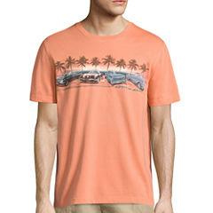 Island Shores Short Sleeve Crew Neck T-Shirt