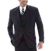 Stafford® Super 100 Royal Navy Suit Jacket–Big & Tall